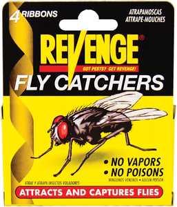 Bonide BP46100 Revenge Fly Catchers 4pk