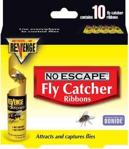 Bonide BP46125 Revenge Fly Catchers 10pk