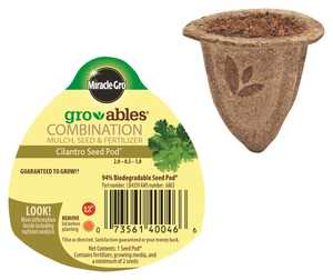 Scotts Miracle-Gro MR140046 Groables Cilantro Seed Pod