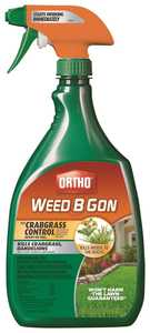 Ortho OR0433510 Weed B Gon Max+Crabgrass Control Ready To Use 24 oz