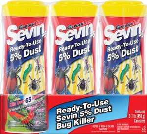 GardenTech S7013D Sevin 5% Dust 1lb 3 Pack
