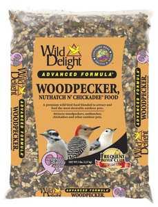 WILD DELIGHT BD36405 Wild Delight Woodpecker Nuthatch N Chickadee 5lb
