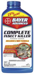Bayer Advanced 700270B Comp Insect Killer Lawn Concentrate 40 oz