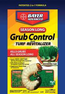 Bayer Advanced 700710S 12-Pound Season Long Grub Control Plus Turf Revitalizer