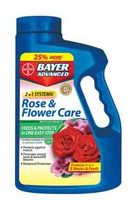 Bayer Advanced 701100A 2 in 1 Rose & Flower 5lb