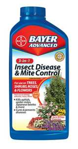 Bayer Advanced 701285B 3n1 Insect Disease & Mite Control 32 Oz