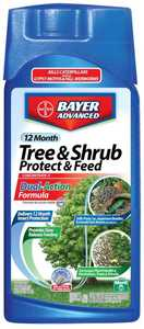 Bayer Advanced 701810A 12 Month Tree & Shrub Protect & Feed II Concentrate 2-1-1 32 oz
