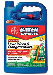 Bayer Advanced 704130A All-In-One Lawn Weed & Crabgrass Killer Rtu Gal