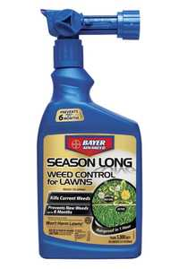 Bayer Advanced 704250A Season Long Weed Control For Lawns Ready To Spray Qt