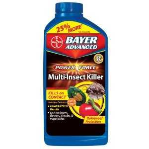 Bayer Advanced 700210A Lawn & Garden Insect Killer Concentrate 32 oz