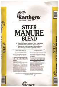 Scotts MR71751185 EarthGro Steer Manure Blend 1 Cu Ft