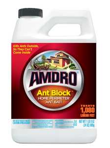 Amdro AM8150120 Ant Block Home Perimeter Ant Bait Granules 24 oz