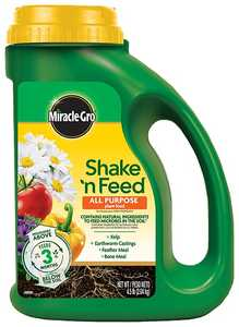 Scotts Miracle-Gro MR3001910 Shake N Feed All Purpose Plant Food 4.5lb