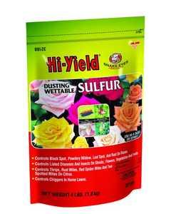 Hi-Yield 32188 Dust Wettable Sulphur 4lb