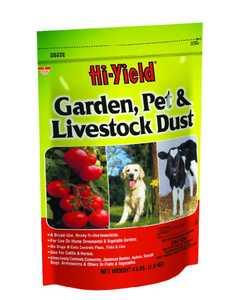 Hi-Yield 32202 Garden & Pet Dust 4lb