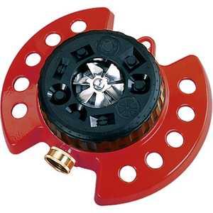 Dramm DM15021 ColorStorm Turret Lawn Sprinkler, Red