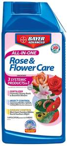 Bayer Advanced 701260B 32-Fl. Oz. All-In-One Rose And Flower Care