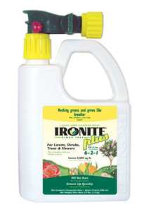 Ironite 436143 Plus Lawn And Garden Ready To Spray 6-2-1 32 oz