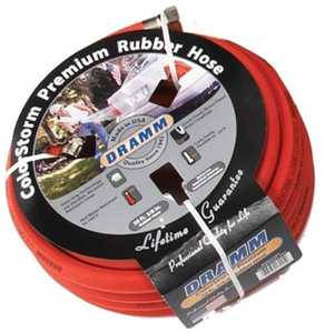 Dramm 17001 ColorStorm™ Premium Rubber Hose Red 5/8 in X 50 ft