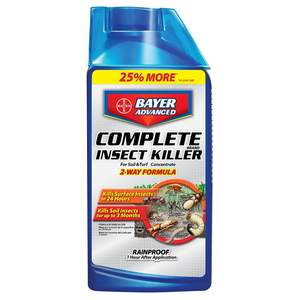 Bayer Advanced 700270B 40-Fl. Oz. Complete Insect Killer For Soil And Turf Concentrate