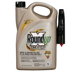 Roundup 5100910 Extended Control Weed And Grass Killer Plus Weed Preventer 1 Gal