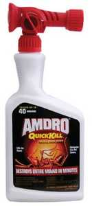 Amdro AM100503146 Quick Kill Fire Ant Mound Drench Rts 32 oz