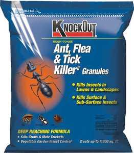 GENERIC CHEMICAL 342031 Knock Out Ant, Flea & Tick Killer Granules 10lb
