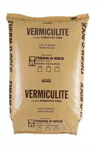GENERIC CHEMICAL 2CF Therm-O-Rock Vermiculite 3 Medium 2 Cu Ft