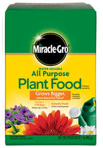 Miracle-Gro 135001 Water Soluble All Purpose Plant Food 1-Lb