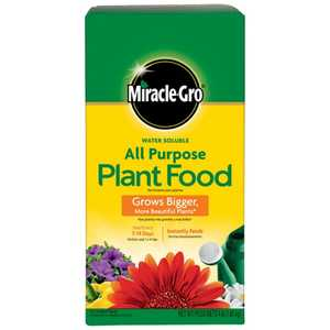 Miracle-Gro 145001 Water Soluble All Purpose Plant Food 4 Lb