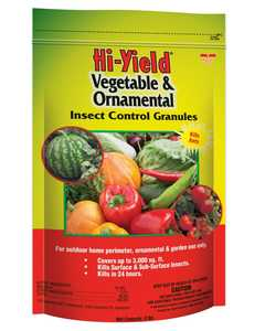 Hi-Yield FH32325 Vegetable & Ornamental Insect Control Granules 4 Lbs