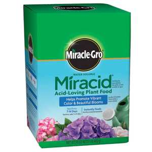 Miracle-Gro 175001 Water Soluble Miracid Plant Food 1 Lb.