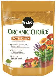 Scotts Miracle-Gro MR72978510 Organic Choice Potting Mix 8 Quart