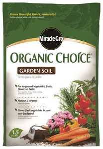 Scotts Miracle-Gro MR72859510 Organic Choice Garden Soil 1.5cf