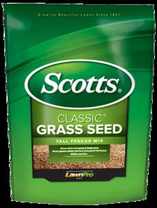 Scotts 17323 Scotts Classic Tall Fescue Grass Seed, 3-Pound