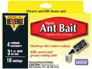 Bonide BP45400 Revenge Ant Bait Liquid 3 oz