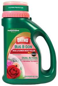 Ortho 9900510 Bug B Gon Rose & Flower +Miracle Gro 4lb