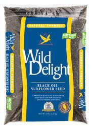 WILD DELIGHT 36105 Wild Sunflower Black Oil 5lb