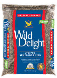 WILD DELIGHT 36305 Wild Striped Sunflower 5lb