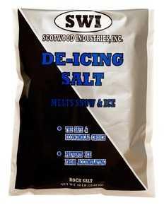 SCOTWOOD INDUSTRIES 50LB Rock Salt 50lb
