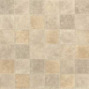 Shaw 0163V-755 Kingsgrove Granby 8 in Tile Visual Residential Resilient Sheet Vinyl Flooring