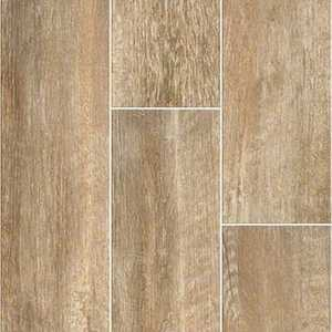 Shaw CS30M-700 Channel Plank Mussel 7x22 Glazed Ceramic Tile