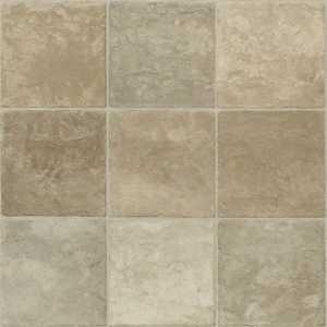 Shaw 0163V-225 Kingsgrove Wheat 13 in Tile Visual Residential Resilient Sheet Vinyl Flooring