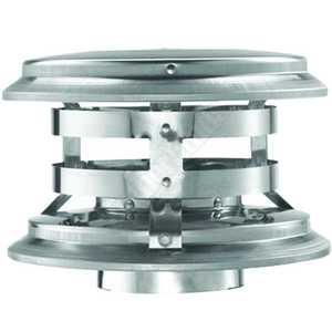 DuraVent 33080 Cap Vertical Vent 3 in multi Fuel