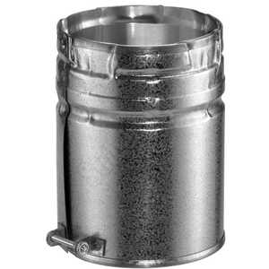 DuraVent 4GVAM 4 in Type B Gas Vent Male Adapter