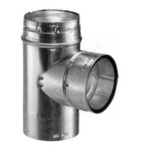 DuraVent 4GVT Type B Gas Tee Standard 4 in