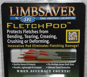 LimbSaver 4301 Limbsaver Fletchpod Fletch Cover Clear 6 Pack #4301