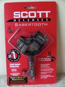 Scott Archery 1004BS2-CA Scott Archery Sabertooth Buckle Strap All Camo Bow Release 1004bs2-Ca