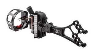 Scott Archery CBE-HYB-5-RH-19 Tek Hybrid Sight 5 Pin Right Hand .019