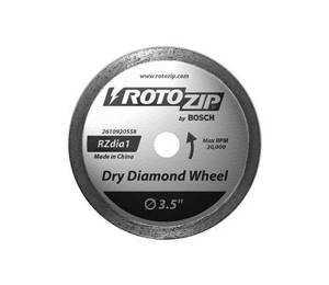 Rotozip RZDIA1 Blade Dry Diamond